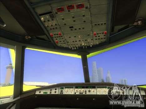 Airbus A-320 S7Airlines pour GTA San Andreas vue arrière