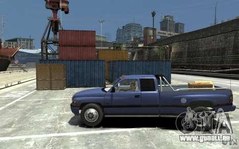 Dodge Ram 3500 1994 pour GTA 4 est une gauche