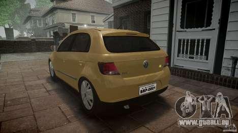 Volkswagen Gol 1.6 Power 2009 für GTA 4 Innenansicht