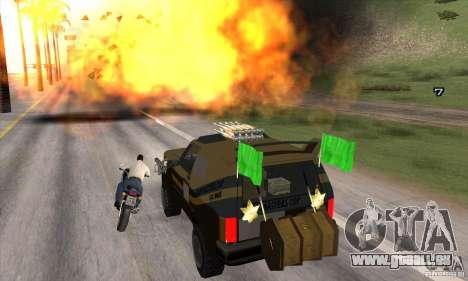 Machine de voiture-mort de mort pour GTA San Andreas sixième écran