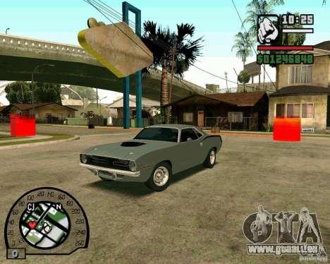 Plymouth Hemi Cuda 440 für GTA San Andreas