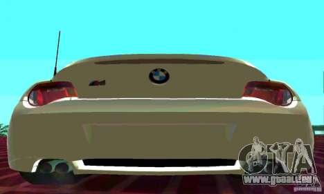 BMW Z4 E85 M für GTA San Andreas linke Ansicht