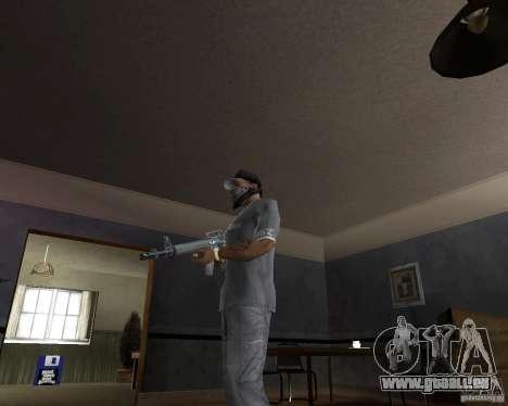 M16-conçu pour GTA San Andreas deuxième écran