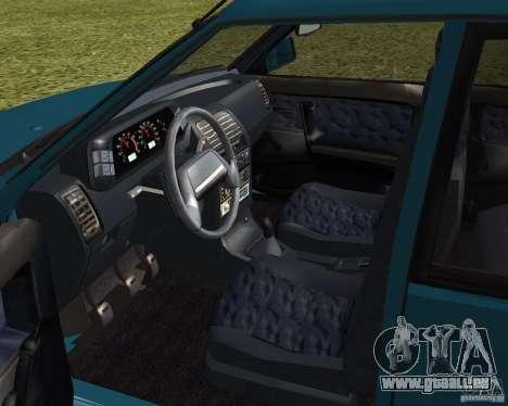 VAZ 21099 Suite pour GTA San Andreas vue arrière