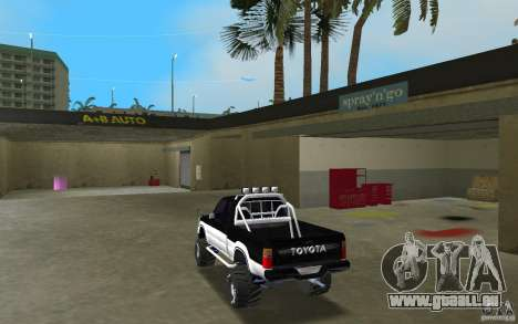 Toyota Hilux Surf für GTA Vice City zurück linke Ansicht