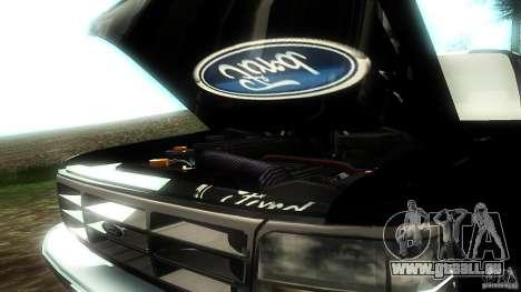 Ford F350 1992 für GTA San Andreas Seitenansicht