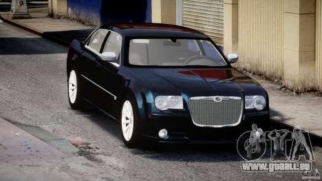 Chrysler 300C SRT8 pour GTA 4 Vue arrière