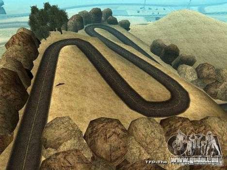 Downhill Drift pour GTA San Andreas quatrième écran