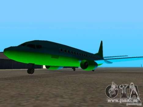 AT-400 auf allen Flughäfen für GTA San Andreas dritten Screenshot