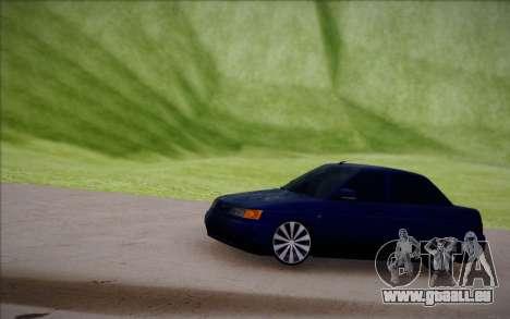 VAZ-2110 für GTA San Andreas Innenansicht