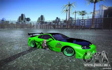 Toyota Supra Tuned pour GTA San Andreas