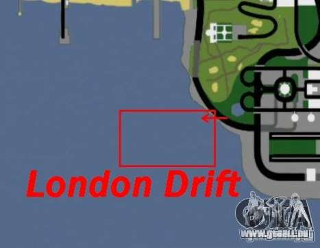 London-Drift für GTA San Andreas fünften Screenshot