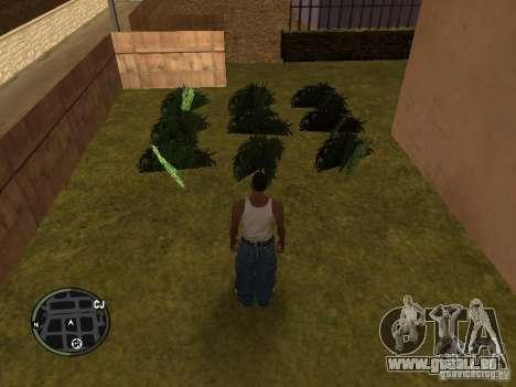 La marijuana v2 pour GTA San Andreas