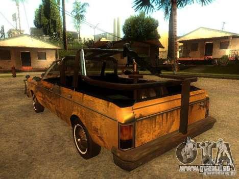 Regina War pour GTA San Andreas vue de droite