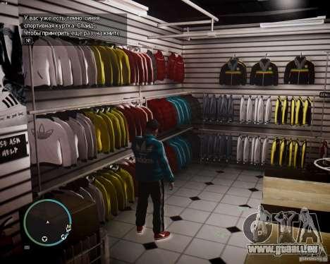 Foot Locker Shop v0.1 für GTA 4 sechsten Screenshot