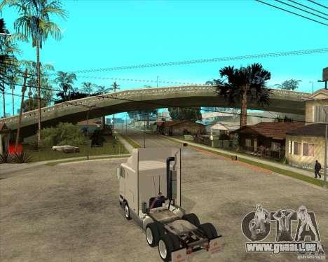 Navistar International 9800 pour GTA San Andreas laissé vue