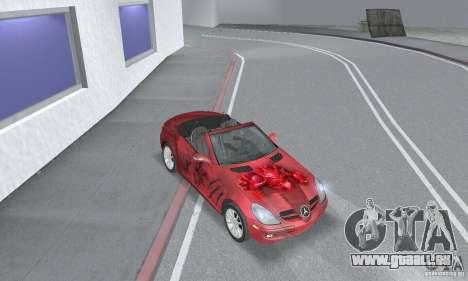 Mercedes-Benz SLK 350 für GTA San Andreas Innenansicht
