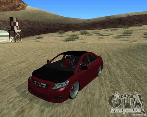 Toyota Corolla 2008 Tuning für GTA San Andreas
