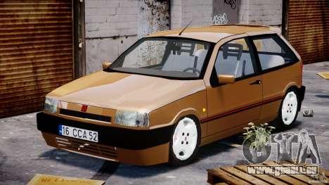 Fiat Tipo 1990 pour GTA 4 Vue arrière
