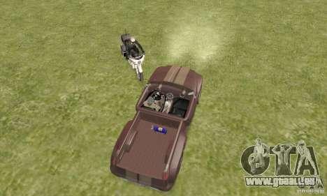 Dodge Sidewinder Concept 1997 pour GTA San Andreas vue arrière