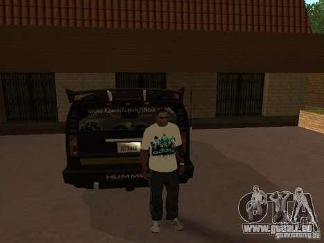 Trikot Adidas für GTA San Andreas dritten Screenshot