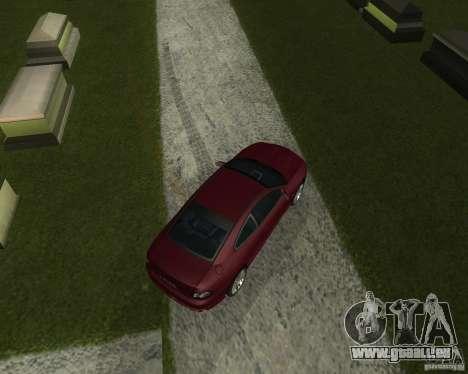 Vauxhall Monaro pour GTA San Andreas sur la vue arrière gauche