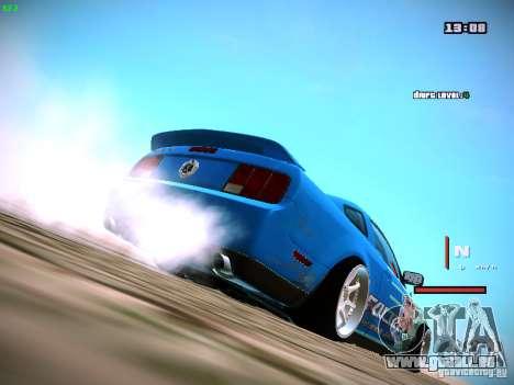 Ford Shelby GT500 Falken Tire Justin Pawlak 2012 pour GTA San Andreas laissé vue