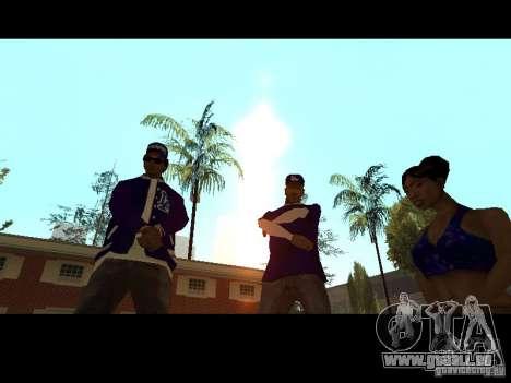Piru Street Crips pour GTA San Andreas huitième écran