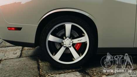 Dodge Challenger SRT8 392 2012 für GTA 4 Innen