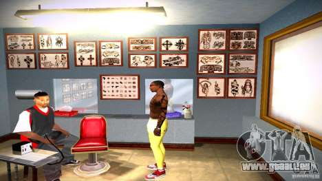 Drei neue Tätowierung für GTA San Andreas elften Screenshot