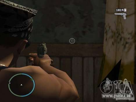 Kamera von GTA IV 1.0 für GTA San Andreas