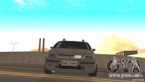 Fiat Idea HLX pour GTA San Andreas sur la vue arrière gauche