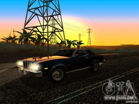 Ford Gran Torino 1975 pour GTA San Andreas vue arrière