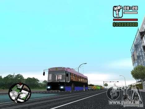 TROLZA 5275 Optima für GTA San Andreas rechten Ansicht