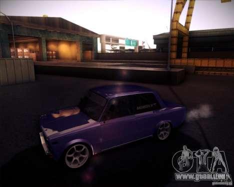 Dérive de VAZ 2106 pour GTA San Andreas vue de droite