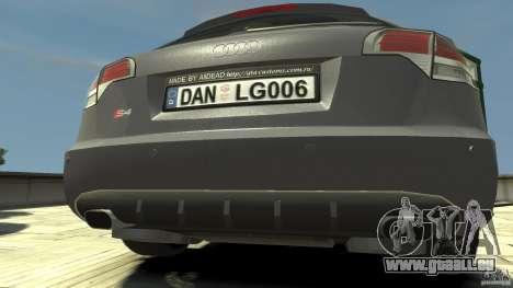Audi A4 Avant beta für GTA 4 rechte Ansicht