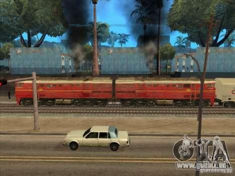 2te10v-4833 pour GTA San Andreas sur la vue arrière gauche