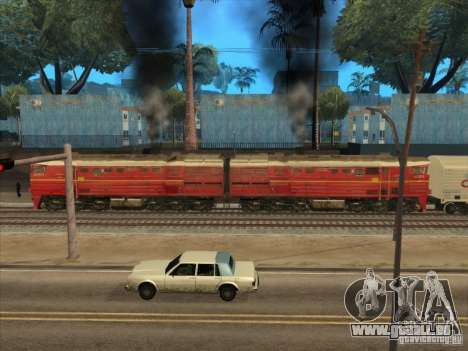 2te10v-4833 für GTA San Andreas zurück linke Ansicht