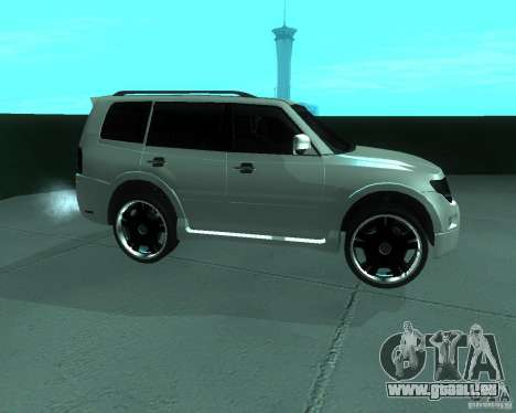 Mitsubishi Pajero STR I pour GTA San Andreas laissé vue