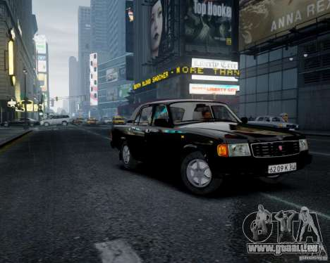 Gaz-31029 pour GTA 4 est un droit