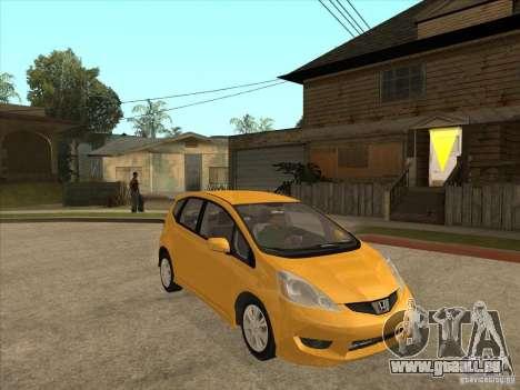 Honda Jazz (Fit) pour GTA San Andreas vue arrière