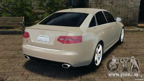 Audi RS6 2010 v1.1 pour GTA 4 Vue arrière de la gauche
