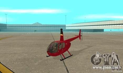 Robinson R44 Raven II NC 1.0 1 de la peau pour GTA San Andreas laissé vue