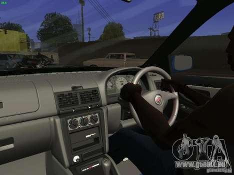 Subaru Impreza 22b Tunable für GTA San Andreas Rückansicht