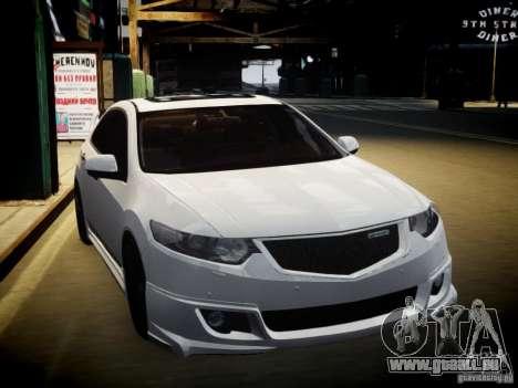 Honda Accord Mugen pour GTA 4 Vue arrière