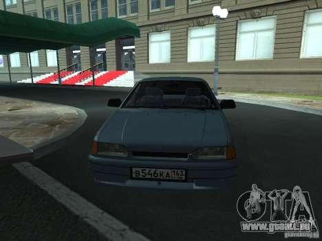 Tourisme 2114 ВАЗ pour GTA San Andreas vue de droite