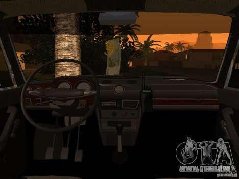 VAZ 2106 Polizei V 2.0 für GTA San Andreas Seitenansicht