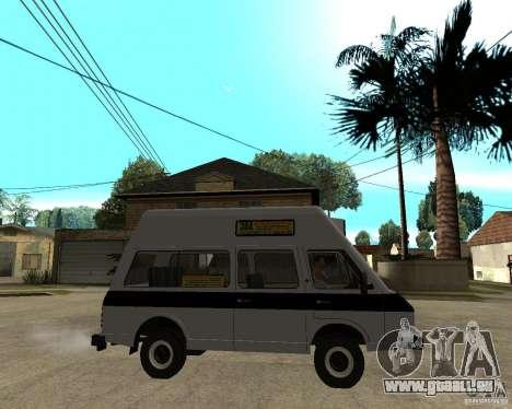 RAPH 22038 taxi pour GTA San Andreas vue de droite