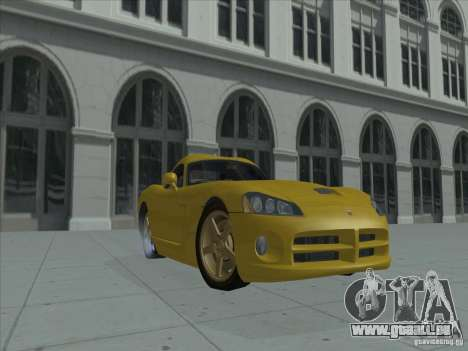 Dodge Viper SRT-10 (Golden Viper) für GTA San Andreas