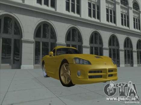 Dodge Viper SRT-10 (or Viper) pour GTA San Andreas